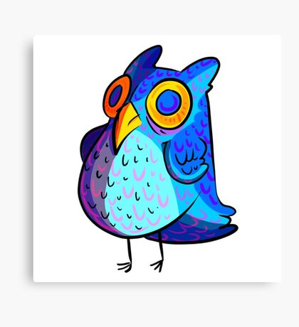 Spacey Owl Canvas Print