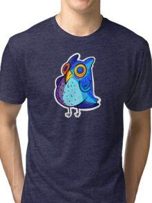 Spacey Owl Tri-blend T-Shirt