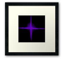 Plasma Staar Framed Print