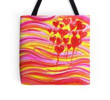 Balloons Of Love Tote Bag