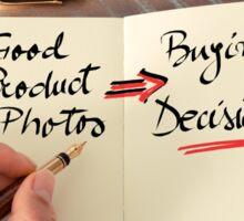 Good Product Photos  Sticker