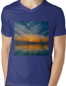 Dawn of Winter Mens V-Neck T-Shirt