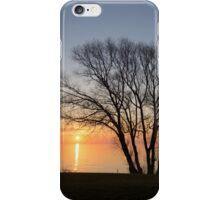 November Sunrise on Lake Ontario in Toronto, Canada  iPhone Case/Skin