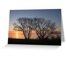 November Sunrise on Lake Ontario in Toronto, Canada  Greeting Card