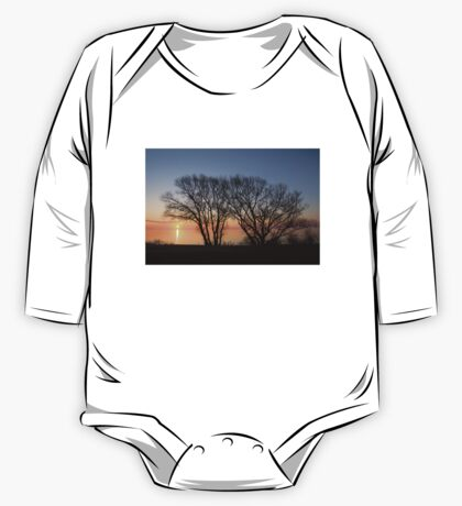 November Sunrise on Lake Ontario in Toronto, Canada  One Piece - Long Sleeve