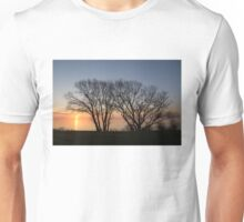 November Sunrise on Lake Ontario in Toronto, Canada  Unisex T-Shirt