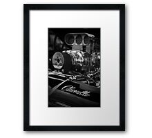 Blown Chevy Chevelle Framed Print