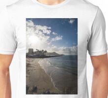 Sun, Sand and Waves - Waikiki, Honolulu, Hawaii Unisex T-Shirt