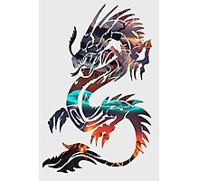 Dragon Picture Fill Photographic Print