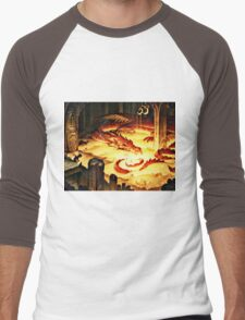 The Hoard of Smaug in Erebor Men's Baseball ¾ T-Shirt