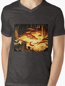 The Hoard of Smaug in Erebor Mens V-Neck T-Shirt