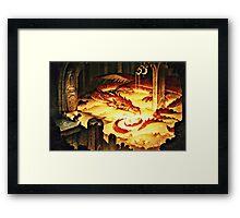 The Hoard of Smaug in Erebor Framed Print