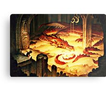The Hoard of Smaug in Erebor Metal Print