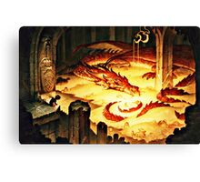 The Hoard of Smaug in Erebor Canvas Print