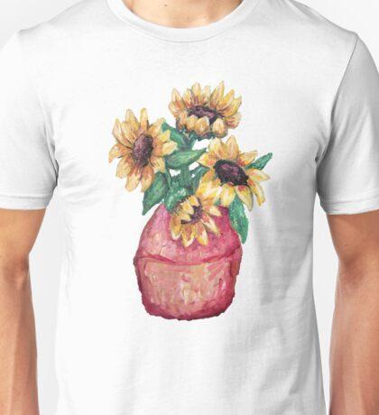 Sunflower Vase II Unisex T-Shirt