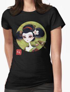 Sakura Girl Reloaded Womens Fitted T-Shirt