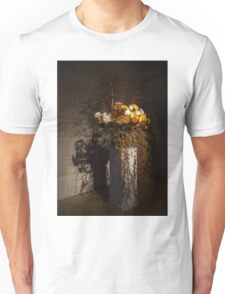 Displaying Mother Nature's Autumn Abundance of Flowers and Colors Unisex T-Shirt