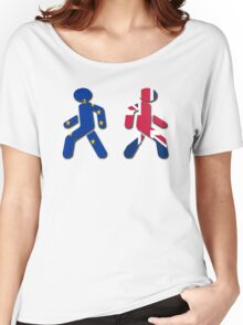 No EU stick figures Women's Relaxed Fit T-Shirt