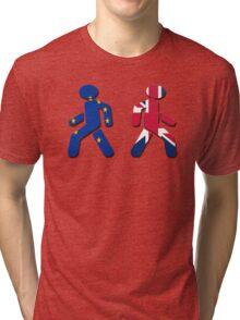 No EU stick figures Tri-blend T-Shirt
