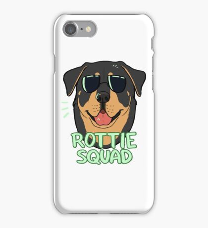 ROTTIE SQUAD iPhone Case/Skin