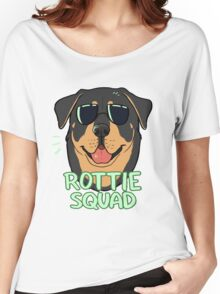 ROTTIE SQUAD Women's Relaxed Fit T-Shirt