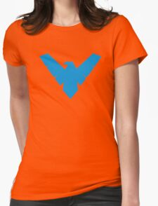 Nightwing Womens Fitted T-Shirt