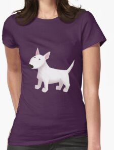 Cute Bull Terrier Dog Womens Fitted T-Shirt