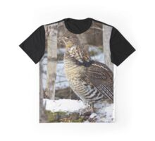 Posing in Nature Graphic T-Shirt