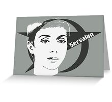 The Federation: Supreme Commander Servalan [S1-2] Greeting Card
