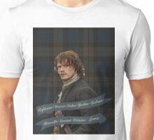 Outlander/Jamie Fraser-Highlander, Warrior... Unisex T-Shirt