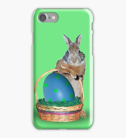 Easter Bunny Rabbit iPhone Case/Skin