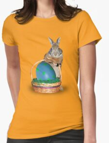Easter Bunny Rabbit Womens Fitted T-Shirt