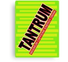 Tantrum Canvas Print
