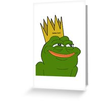 Meme Lord Greeting Card