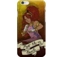 Fight Like An Oracle (Din) iPhone Case/Skin
