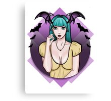 Cute Morrigan Canvas Print