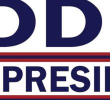 Eddie For Prez  Sticker