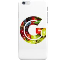 The Letter G - Fruit iPhone Case/Skin