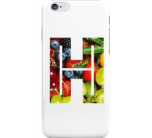 The Letter H - Fruit iPhone Case/Skin