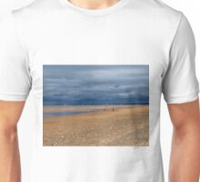 Stormclouds over The Beach Unisex T-Shirt