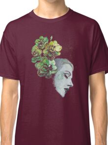 Obey Me - girl with flowers Classic T-Shirt