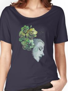 Obey Me - girl with flowers Women's Relaxed Fit T-Shirt
