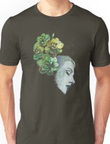 Obey Me - girl with flowers Unisex T-Shirt