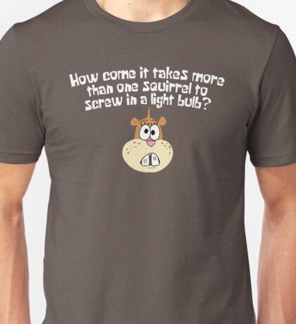 Squirrel Jokes - Spongebob Unisex T-Shirt