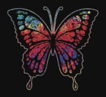 Psychedelic Butterfly Kids Tee
