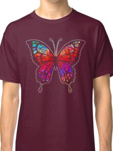 Psychedelic Butterfly Classic T-Shirt