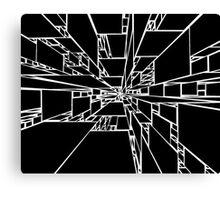 Space Web Canvas Print