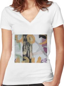 A Matter of Turning Women's Fitted V-Neck T-Shirt
