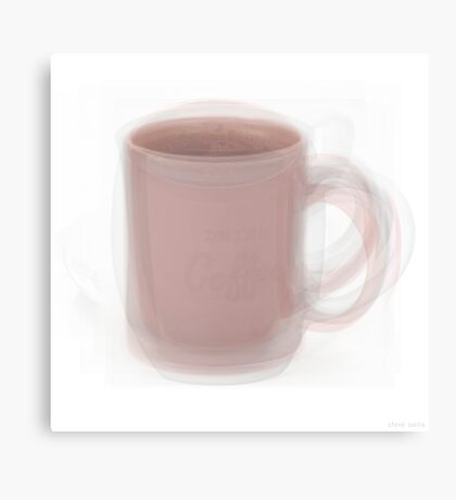 Coffee Mug Canvas Print