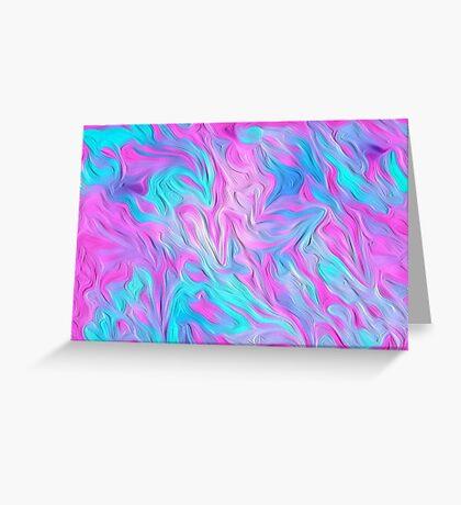Digital Pastel Oil Painting Greeting Card